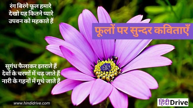 फूलों पर सुन्दर कविताएँ | Poem on Flowers in Hindi | फूल पर कविता
